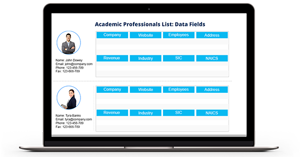 Academic Professionals List