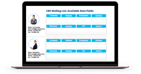 CEO Email List - CEO Mailing List - CEO Email Addresses