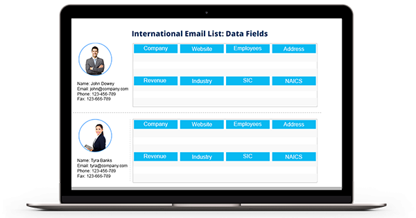 International Email List - USA, UK, APAC, African Email List