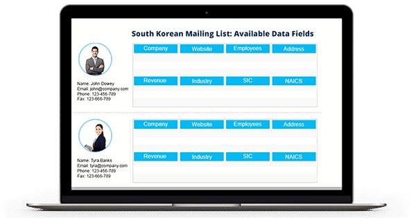 South Korean Business Email List