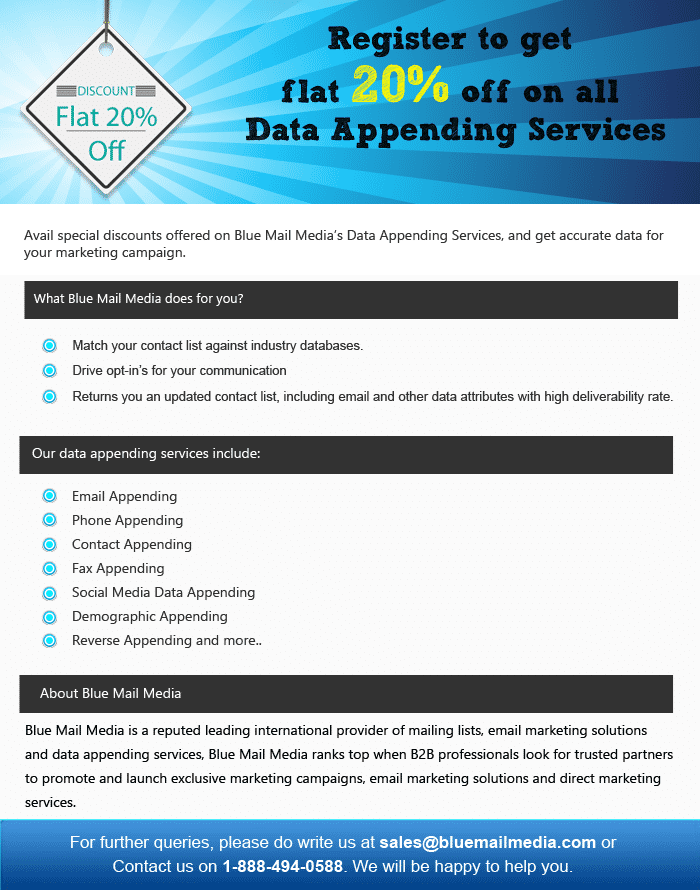 Data-Append-Services