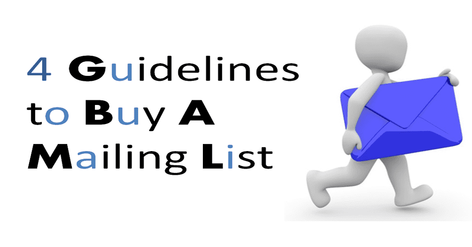 Don't Buy an Email List or Mailing List Without Checking these Tips