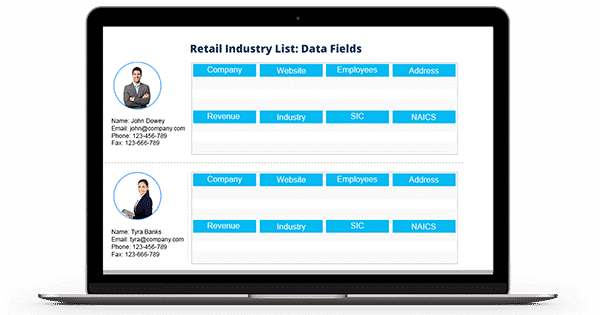 Retail Industry List