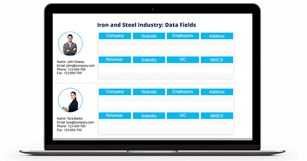 Iron and Steel Industry Email List