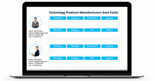 Technology Products Manufacturers Email List