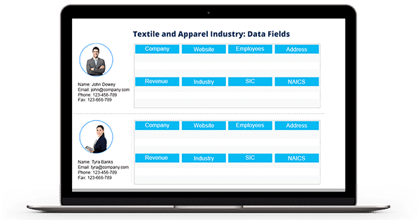 Textile and Apparel Industry Email List
