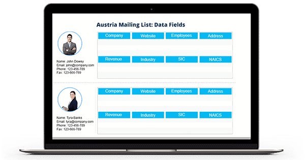 austria email database