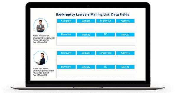 Bankruptcy Lawyers Email List