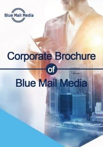 Corporate Brochure of Blue Mail Media