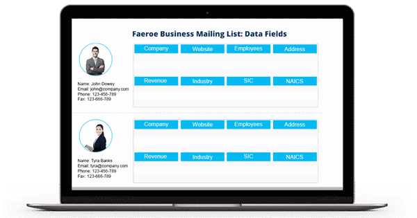 Faeroe Business Mailing List