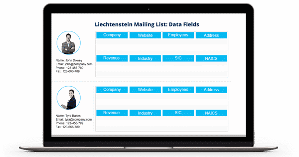 Liechtenstein Business Mailing List