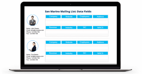 San Marino Business Mailing List