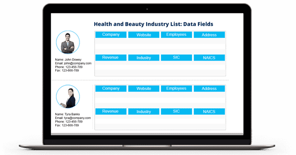Health and Beauty Industry Email List