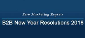 B2B New Year Resolutions 2018 Banner