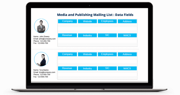 Media and Publishing Mailing List