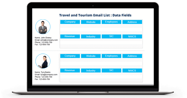 Travel and Tourism Email List