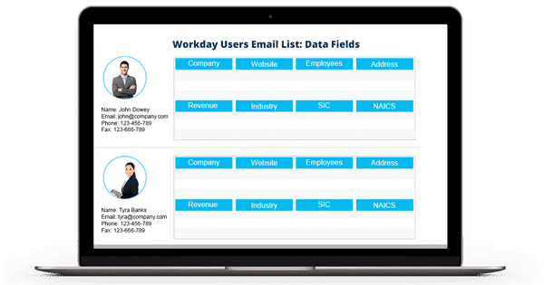 Workday Users Email List