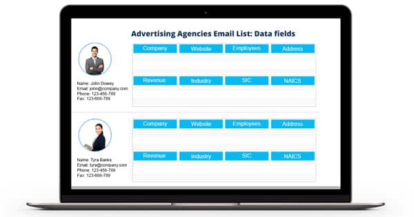Advertising Agencies Email List