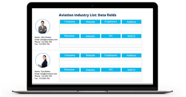 Aviation Industry List