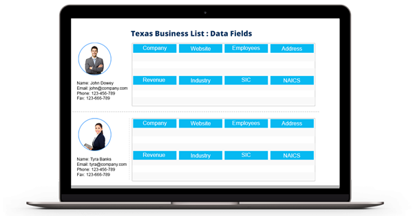 Texas Email List - Texas Business Mailing List - TX Business