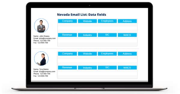 Nevada Email List