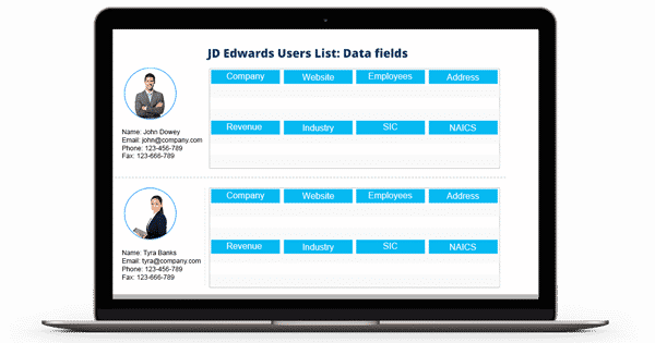 JD Edwards Users List