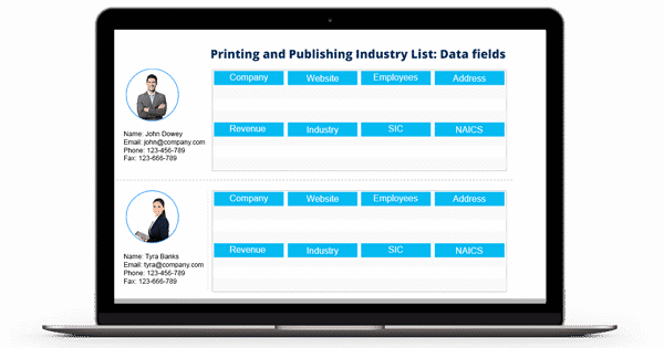 Printing and Publishing Industry List