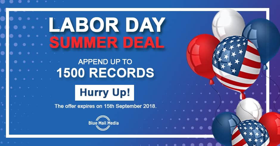 Amazing Deals on Labors Day 2018