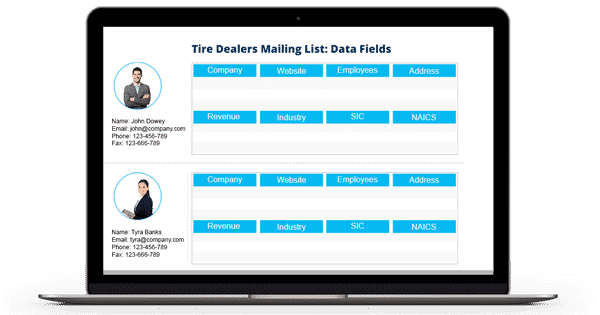 Tire-Dealers-Mailing-List-Data-Fields