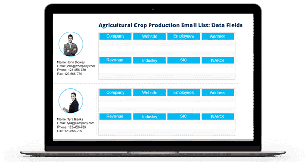 Agricultural-Crop-Production-Email-List