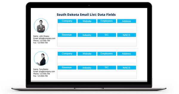 South-Dakota-Email-List