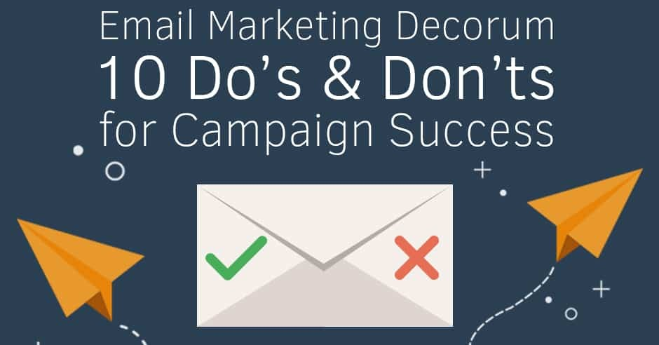 Email-Marketing-Decorum