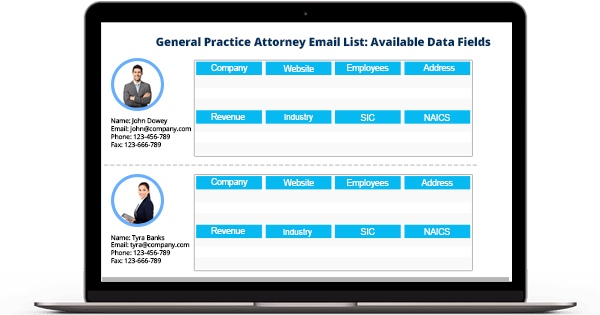General Practice Attorney Email List