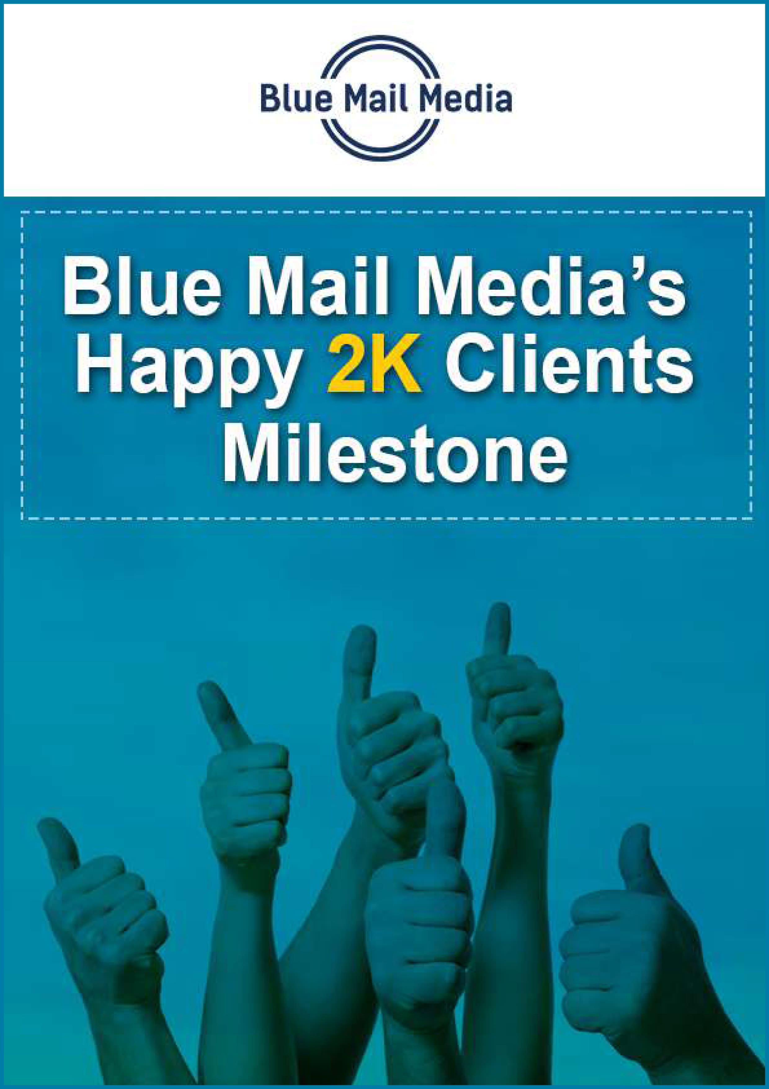 Happy 2k clients milestone