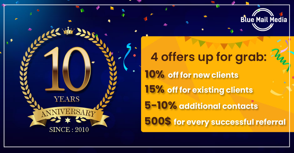 10th anniversary offers